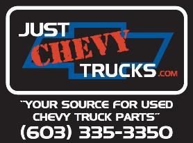 Just Chevy Trucks Website