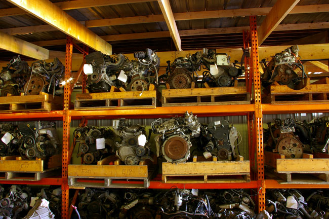 Older car and truck engines